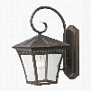 8411EW/70 Ridgewood 1 Light Exterior Coach Lantern In Hazelnut