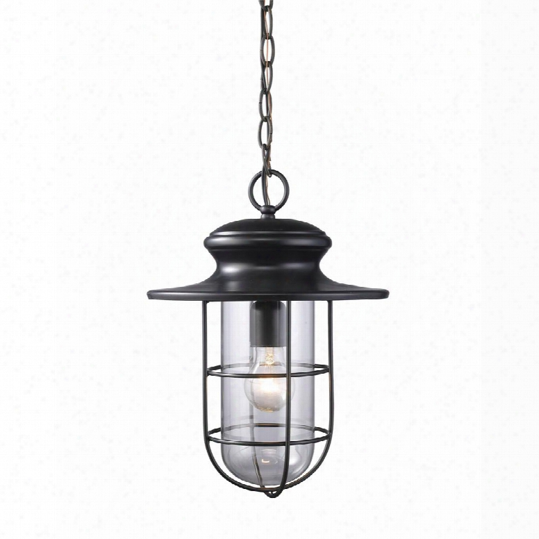42286/1 Portside 1-light Outdoor Pendant In Matte