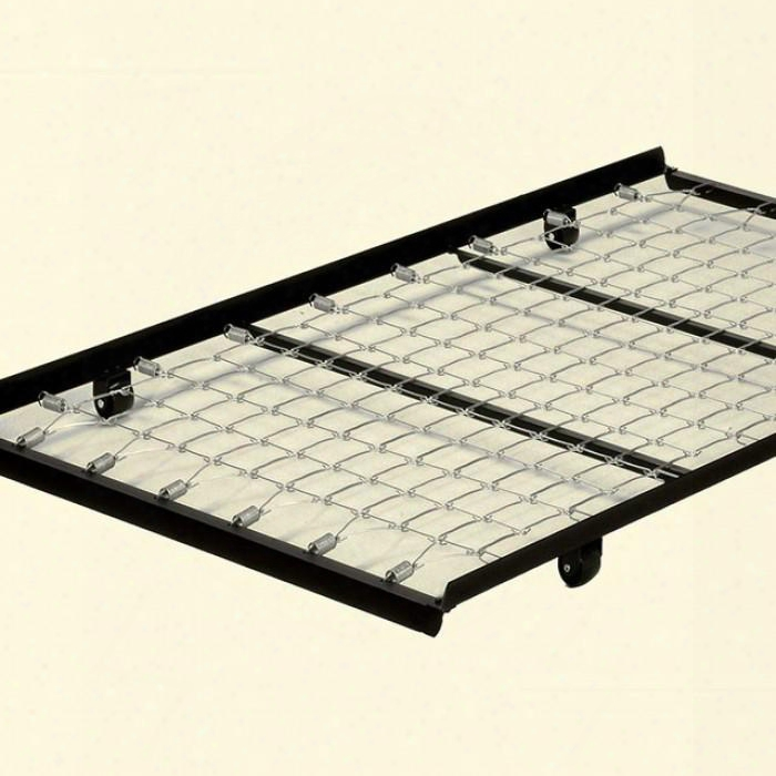 Framos Mt-pulot-tr Pull-out Trundle With Remains In Lower Position Rug Rollers For Easy Movement Made With High Carbon Rail Steel 4 Casters In