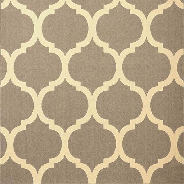"""Julien Rg4208 5' X 8' Gray Area Rug With Power Loomed Pile Height: 0.25"""" Backing: Poly/jute Olefin In"""