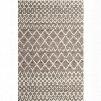 RLIF-05-7998 7'9x9'8 Brown Wool Rug Geometric