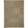 RTEX-06-7998 7'9x9'8 Beige 75% Wool Rug Southwestern/Tribal