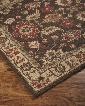 "Stavens R400101 120"" x 96"" Large Size Rug with Traditional Design Hand-Tufted 5-6mm Pile Height and Wool Material in Backed with Cotton Latex in Brown"