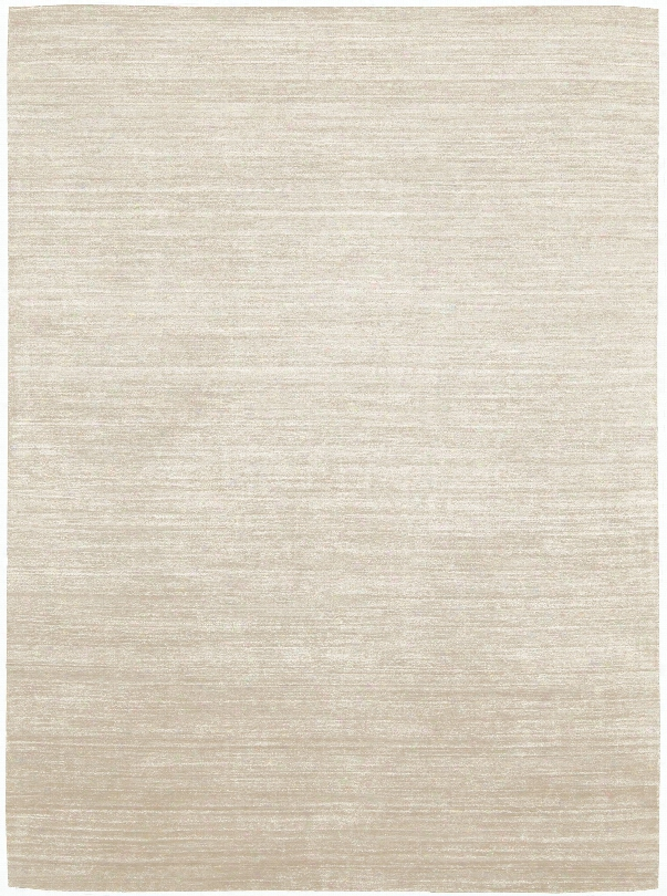 Shimmer 100% Bamboo Viscose Rug In Calcium Design By Calvin Klein Home