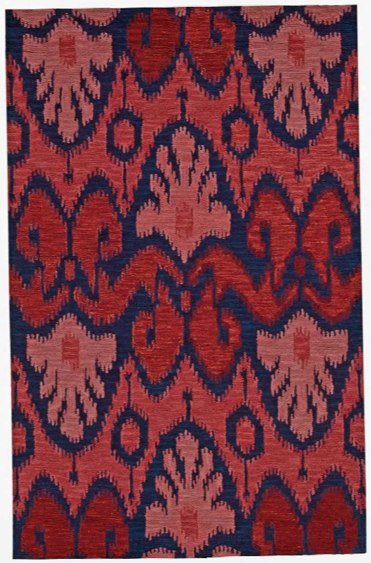 Siam Rug In Navy & Red Design By Nourison