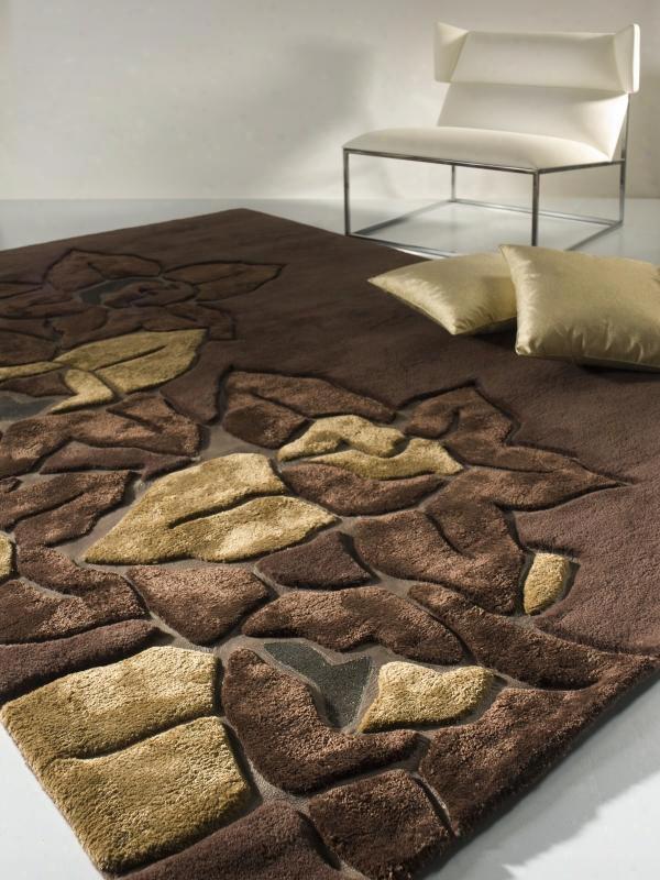 Vgwfdakota-brn Modrest Dakota - Modern Italian Designer Carpet 5.5' X