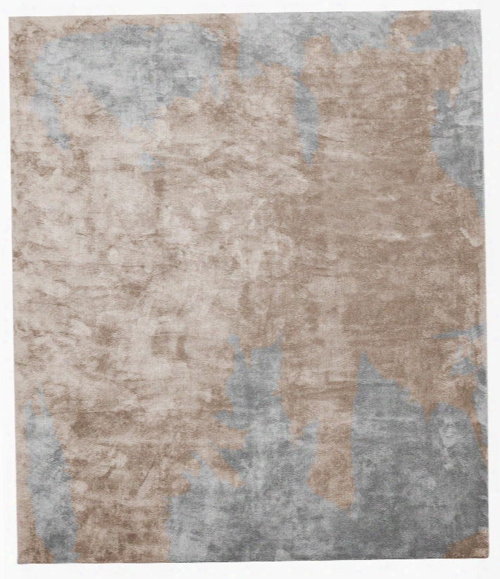 Action Caccia Hand Knotted Rug In Brown Design By Second Studio
