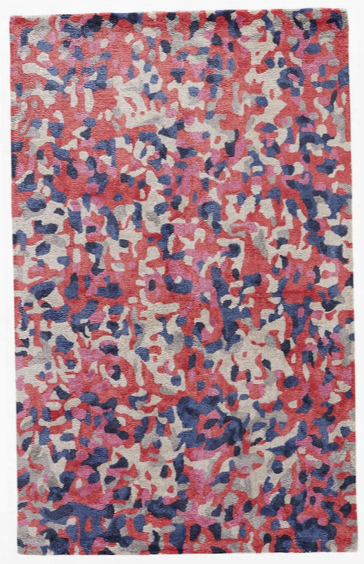 Bowery Rug In Splatter Paint Design By Kate Spade