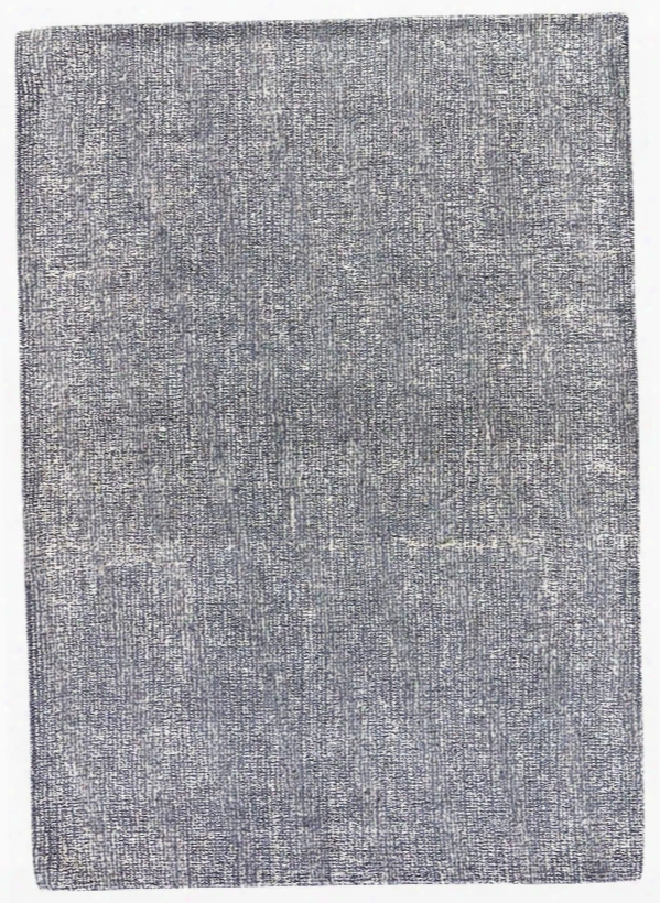 Britta Plus Rug In Ombre Blue & Silver Grey Design By Jaipur