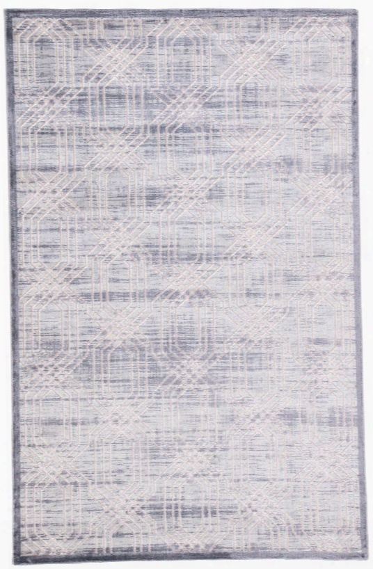 Carlyle Terllis Gray & Silver Area Rug Design By Jaipur