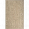 Village Collection Seagrass Area Rug in Tan and Caramel design by Surya