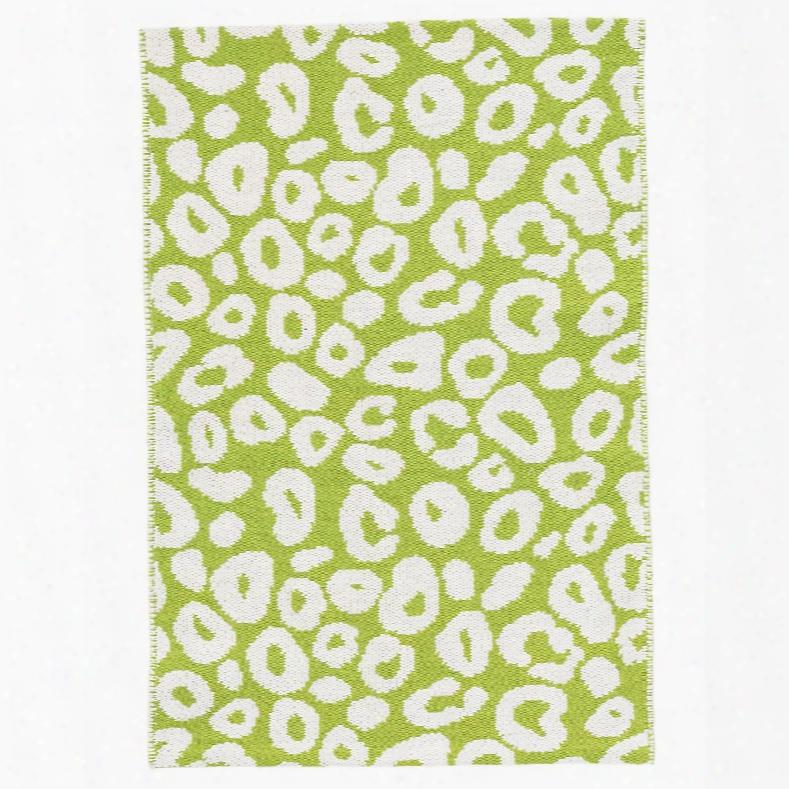 Spot Green Woven Cotton Rug Design By Dash & Albert