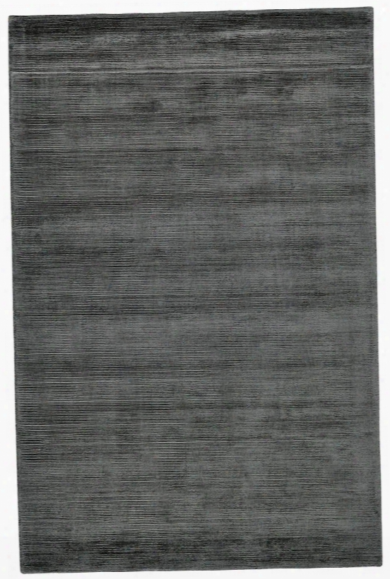 Structure Rug In Charcoal Design By Bd Fine