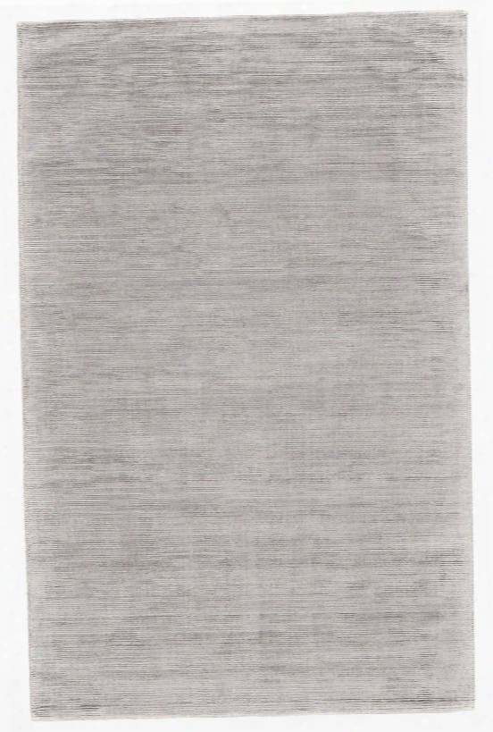 Structure Rug In Silver Design By Bd Fine