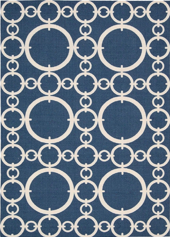Sun N' Shade Rug In Navy Design By Nourison