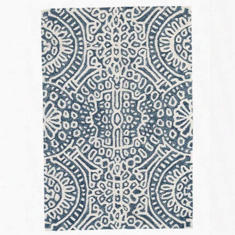 Temple Ink Wool Micro Hooked Rug Design By Dash & Albert