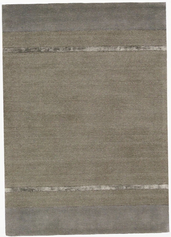 Vale Wool And Viscose Area Rug In Graphite Design By Calvin Klein Home