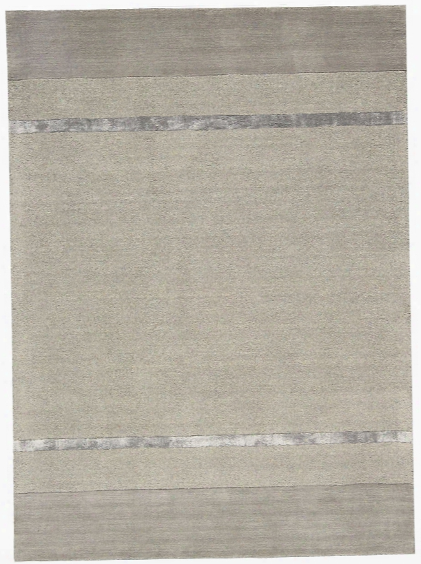 Vale Wool And Viscose Area Rug In Zinc Design By Calvin Klein Home