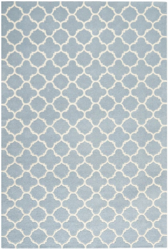 Chatham Rug In Blue & Ivory Design By Safavieh
