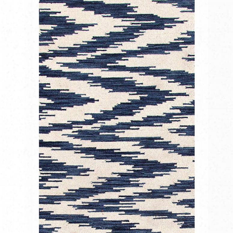Chekat Ink Wool Micro Hooked Rug Design By Dash & Albert