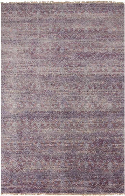 Cheshire Rug In Mauve & Iris Design By Surya