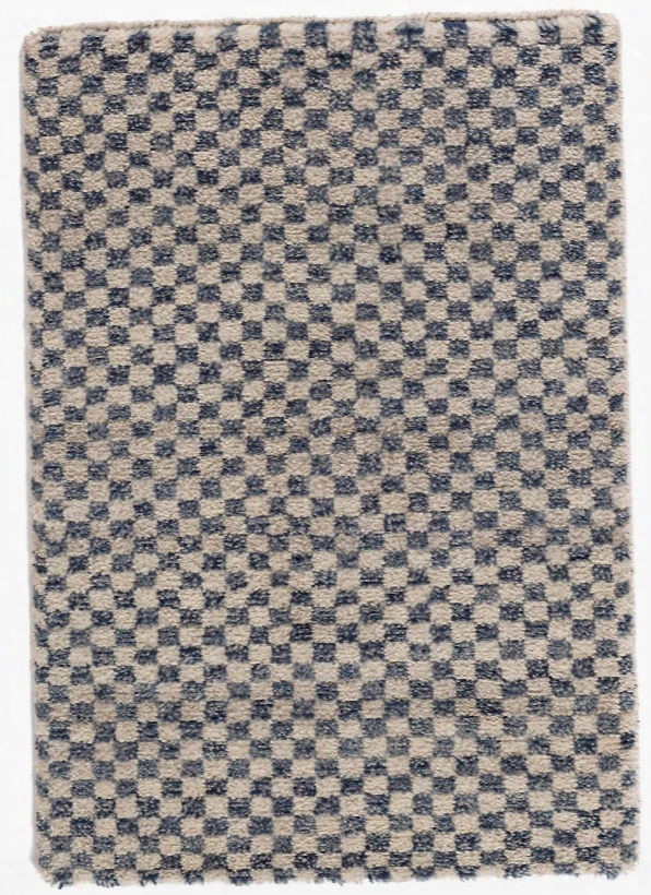 Citra Denim Hand Knotted Wool Rug Design By Dash & Albert