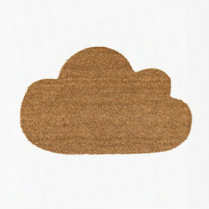 Coir Cloud Shaped Door Mat Design By Bd Edition
