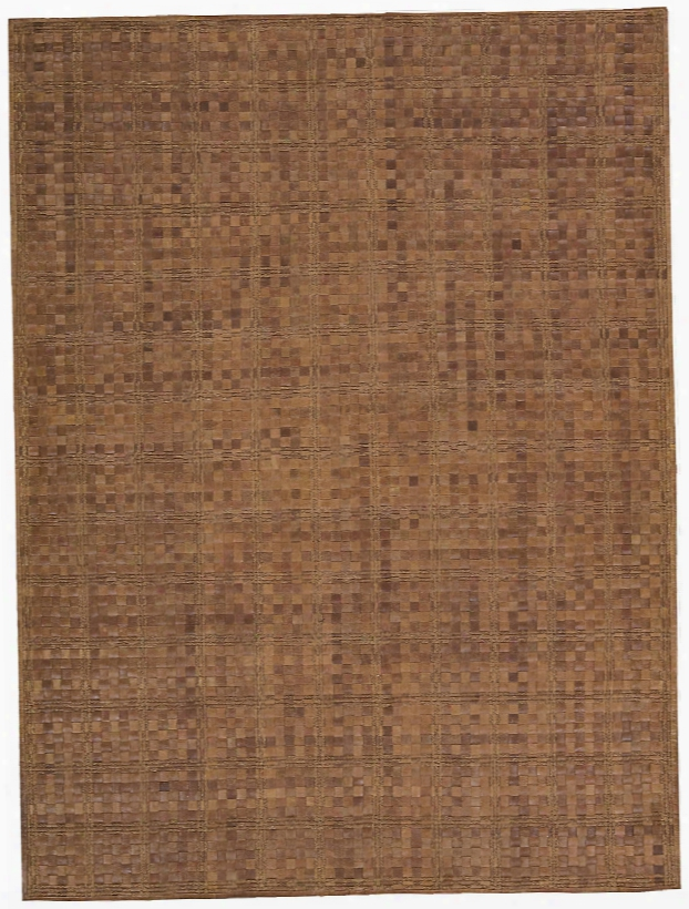 Equestrian Collection Antique Leather Area Rug In Saddle Design By Barclay Butera Lifestyle