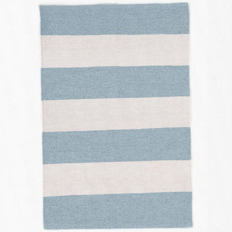 Falls Village Stripe Blue Indoor/outdoor Rug Design By Dash & Albert
