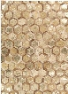 City Chic Rug in Amber Gold design by Nourison