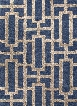 City Collection Dallas Rug in Deep Navy & Dark Gray design by Jaipur