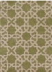Davin Collection Hand-Tufted Area Rug in Green & Cream design by Chandra rugs